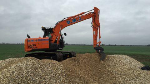 360 Excavator - Hitachi ZX130 360 Excavators