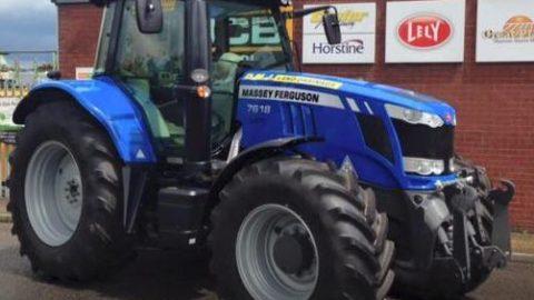 Massey Ferguson 7818 - Blue Tractors